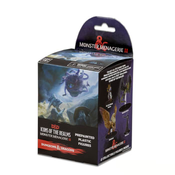 D&D Fantasy Miniatures: Icons of the Realms: Monster Menagerie 2 - Standard Booster Pack