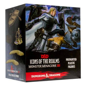D&D Fantasy Miniatures: Icons of the Realms: Monster Menagerie 3 - Kraken and Islands Case Incentive
