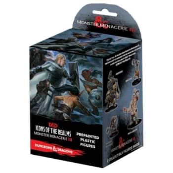 D&D Fantasy Miniatures: Icons of the Realms: Monster Menagerie 3 - Standard Booster Pack