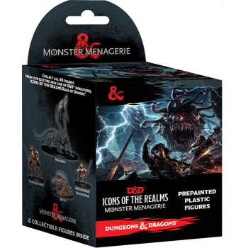 D&D Fantasy Miniatures: Icons of the Realms: Monster Menagerie Standard Booster Pack