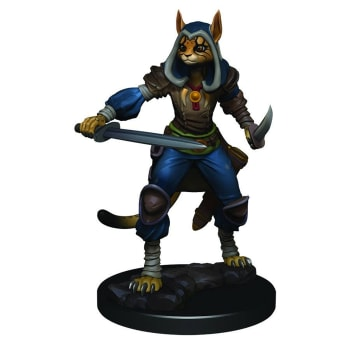 D&D Fantasy Miniatures: Icons of the Realms: Premium Figure - Female Tabaxi Rogue