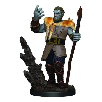 D&D Fantasy Miniatures: Icons of the Realms: Premium Figure - Male Firbolg Druid