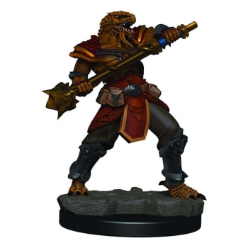 D&D Fantasy Miniatures: Icons of the Realms: Premium Figure - Male Dragonborn Fighter