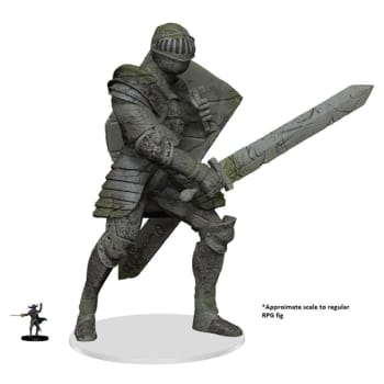 D&D Fantasy Miniatures: Icons of the Realms: Walking Statue of Waterdeep The Honorable Knight