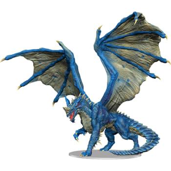 D&D Fantasy Miniatures: Icons of the Realms: Premium Figure - Adult Blue Dragon