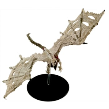 D&D Fantasy Miniatures: Icons of the Realms: Rage of Demons Case Incentive Promo Figure - White Dracolich