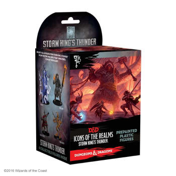 D&D Fantasy Miniatures: Icons of the Realms: Storm King's Thunder Standard Booster Pack