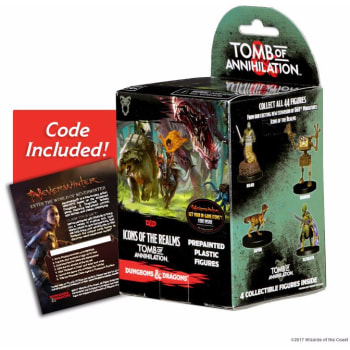 D&D Fantasy Miniatures: Icons of the Realms: Tomb of Annihilation  - Standard Booster Pack