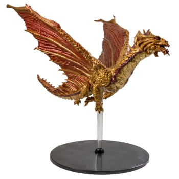 D&D Fantasy Miniatures: Icons of the Realms: Tyranny of Dragons Case Incentive Promo Figure - Ancient Brass Dragon