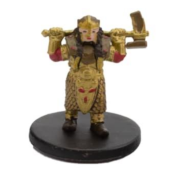 Gold Dwarf Female Cleric - 47