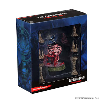 D&D Fantasy Miniatures: Icons of the Realms - Volo & Mordenkainen's Foes Premium Set - Elder Brain & Stalagmites