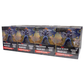 D&D Fantasy Miniatures: Icons of the Realms: Waterdeep Dragon Heist - Standard Booster Brick