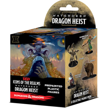 D&D Fantasy Miniatures: Icons of the Realms: Waterdeep Dragon Heist - Standard Booster Pack