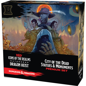 D&D Fantasy Miniatures: Icons of the Realms: Waterdeep Dragon Heist - City of the Dead Case Incentive