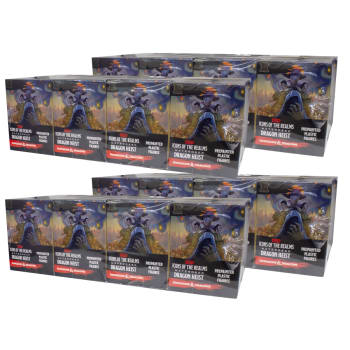 D&D Fantasy Miniatures: Icons of the Realms:  Waterdeep Dragon Heist - Standard Booster Brick Case