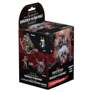 D&D Fantasy Miniatures: Icons of the Realms: Waterdeep: Dungeon of the Mad Mage - Standard Booster Pack