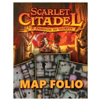 Dungeons & Dragons: Scarlet Citadel Map Folio