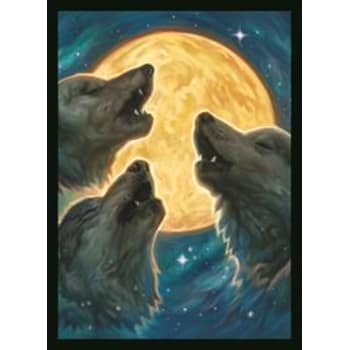 3 Wolf Moon Double Matte Sleeves (50)