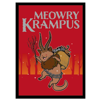 Matte Sleeves: Meowry Krampus (50)