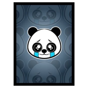 Matte Sleeves: Sad Panda (50)