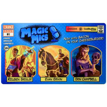 "Magic Mics ""Issue #1"" Playmat"