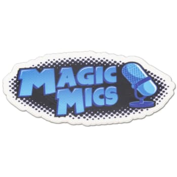 Magic Mics Sticker