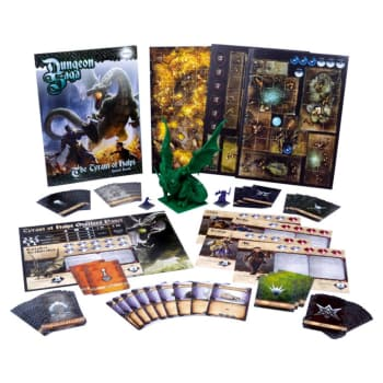 Dungeon Saga: The Tyrant of Halpi Expansion Box Set