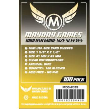 41 MM X 63 MM 100 Mini USA Kartenhüllen MDG7039