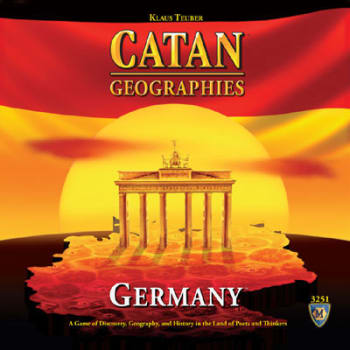 Catan Geographies: Germany Board Game