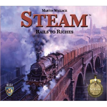Steam: Rails to Riches Board Game
