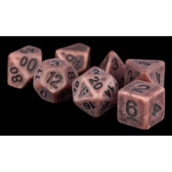 Poly 7 Dice Set: Ancient - Copper