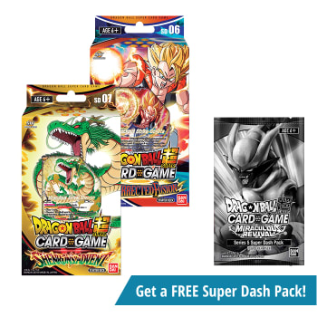 Dragon Ball Super TCG - Resurrected Fusion and Shenron's Advent Starter Decks