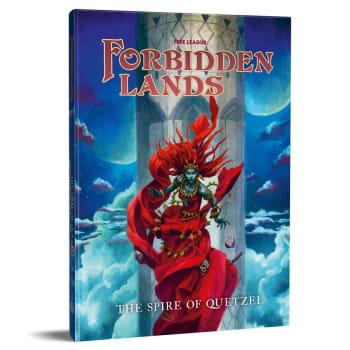 Forbidden Lands RPG: Quetzel's Spire Scenario Compendium