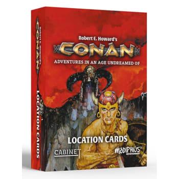 Conan: Location Cards