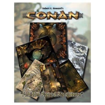 Conan: Forbidden Places & Pits of Horror Tile Set