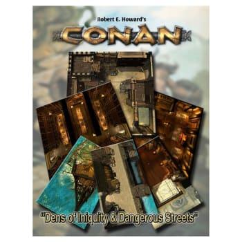Conan: Dens of Iniquity & Streets of Terror Tile Set