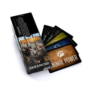 Mutant: Year Zero - Genlab Alpha Card Deck