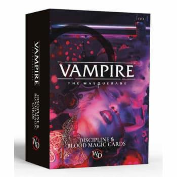 Vampire: The Masquerade (5th Edition): Discipline and Blood Magic Card Deck