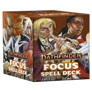 Pathfinder 2nd Edition: Spell Cards - Focus