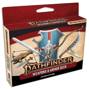 Pathfinder 2nd Edition: Weapons & Armor Deck