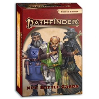 Pathfinder 2nd Edition: NPC Battle Cards