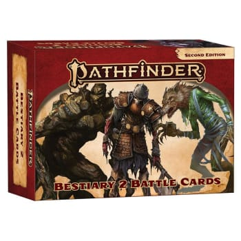 Pathfinder 2nd Edition: Bestiary 2 Battle Cards