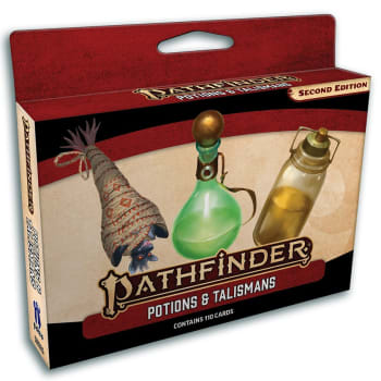Pathfinder 2nd Edition: Potions and Talismans Deck