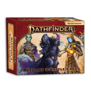 Pathfinder 2nd Edition: Bestiary 3 Battle Cards