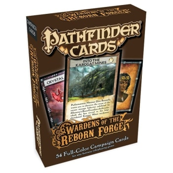 Pathfinder Campaign Cards: Wardens of the Reborn Forge
