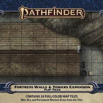 Pathfinder Flip-Tiles: Fortress Walls & Towers Expansion