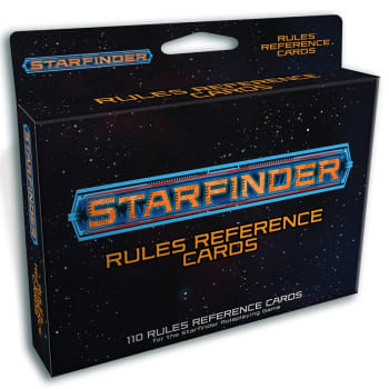 Starfinder: Rules Reference Deck
