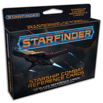Starfinder: Starship Combat Reference Cards