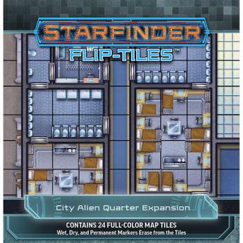 Starfinder Flip-Tiles: City Alien Quarter Expansion
