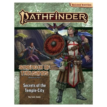 Pathfinder Adventure Path (Second Edition): Secrets of the Temple-City (Strength of Thousands 4 of 6)